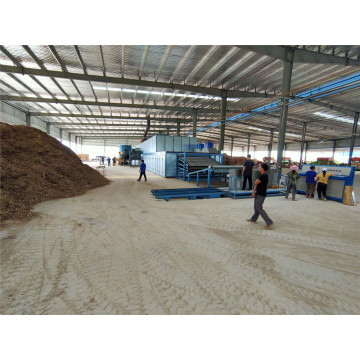 3 Deck Roller Veneer Dryers Machine