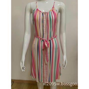 Women's lace print dress