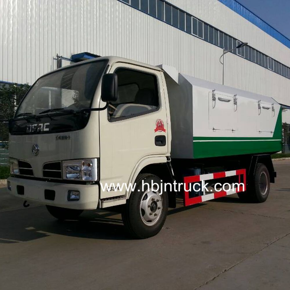 Dongfeng 6 Cubic Meters Garbage Dump Truck