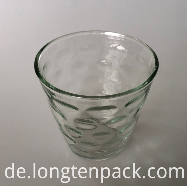 LTP4019 Cone glass candle cup