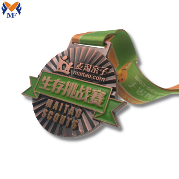 Custom metal 3D solid sport medals