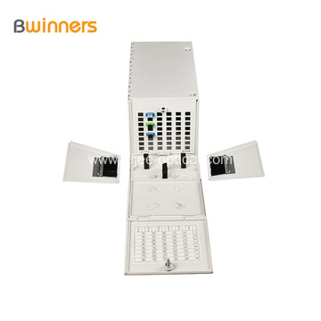 48 Core New Arrival Wall Mount Fiber Optical Distribution Cabinet Fiber Optic Hub Distribution box