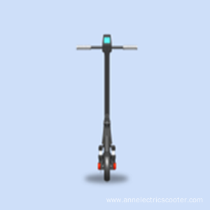 Adult two-wheel shock-absorbing folding electric scooter