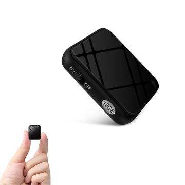 QZT Smallest Voice Recorder Dictaphone Professional Digital Voice Activated Recorder Sound Recording Device Mini Audio Recorder