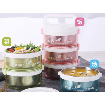 304 Stainless Steel Insulated Lunch Box Heating Lunch
