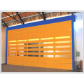 Industrial High Speed Windproof PVC Stacking Door