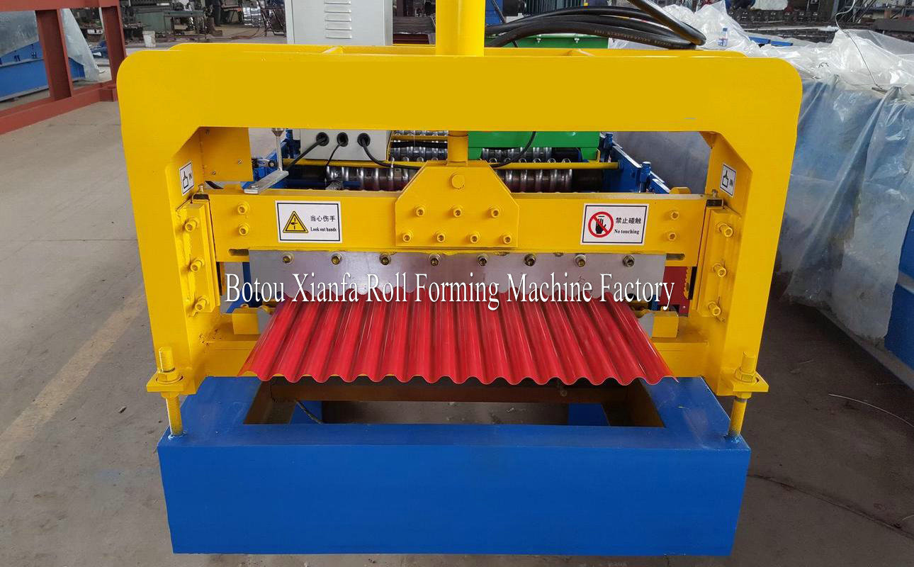 S Tile Forming Machine