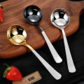 Colourful Stainless Cupping Spoon with leather bag