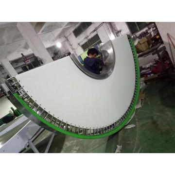 Factory Supply 180 Degree Curve Belt Conveyor Systems