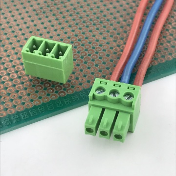3.5mm pitch PCB 3 way contact terminal block