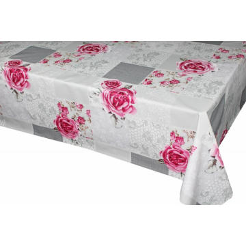 Linens Pvc Printed fitted table covers