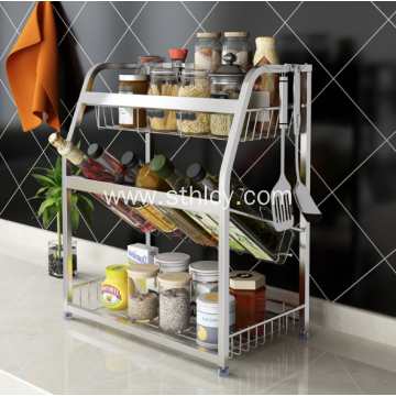 Multi-Function Group Stainless Steel Life Commodity Shelf