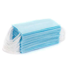 Hot sales 3ply non-woven disposable face mask with filter
