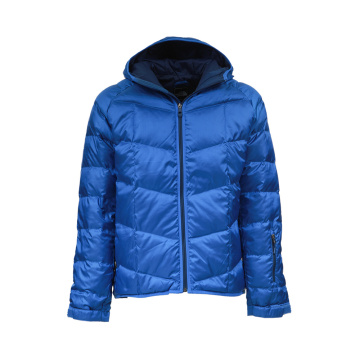 high quality zipper winter coat mens down jacket