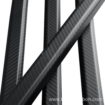 I-Wholesale Matte Finish Carbon fiber Octagonal Tube