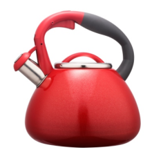 2.7L color painting nylon handle&body whistling teakettle
