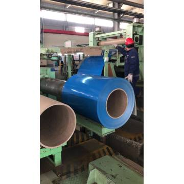 Pre Polymer Plastic Iron Wire Coil With Steel Coating
