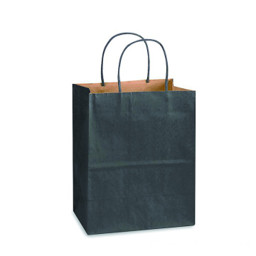 Matte Colors Square-bottom Kraft Paper Bags