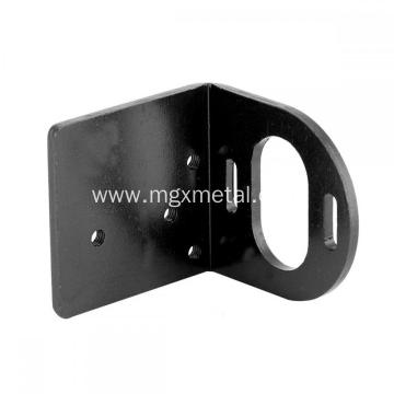High Quality Powder Coating Black Metal Motor Mounting Holder