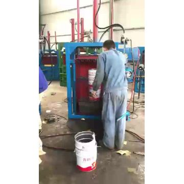 Waste paper Plastic Baling Machine with CE Certification
