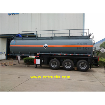 Tri-axle 7000 Gallon Sulfuric Acid Transport Trailers