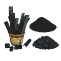 Low temperature bamboo charcoal