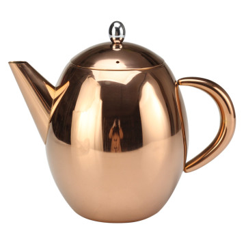 Cooper Painting Tea Pot With Infuser