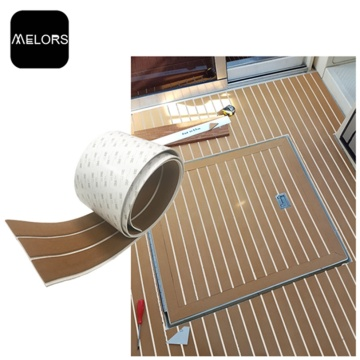 Melours Anti Slip Adhesive Teak Decking For Boats