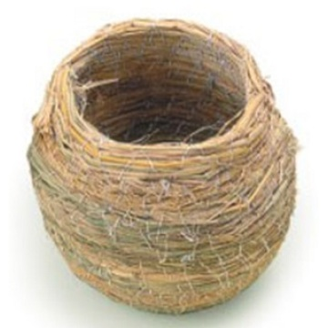 Percell Pot Shape Medium Straw Bird Nest