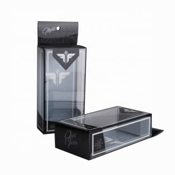 Transparent Window Folding Custom Plastic Box For Apparel