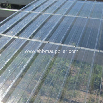 FRP Fiber Glass Corrugated Sunlight Roofing Sheet