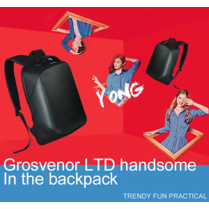 3G  Mobile Outdoor Dynamic Backpack Led Display