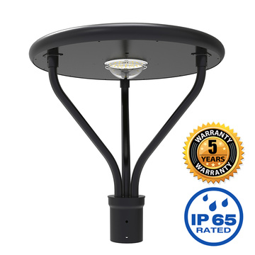 led post top light fixture 20W with solar