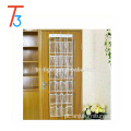 24 pockets transparent PVC over the door hanging shoe organizer
