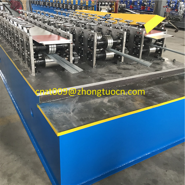 3 in 1 light keel beam roll forming machine 07