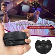 ABS Magnetic Eyeglass Frame For Oculus Quest VR Lens Protection Frame Quick Disassemble without Lens VR glass Accessories