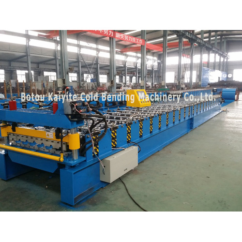 India Style Color Steel Tile Roofing Making Machine