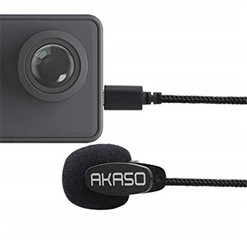 AKASO V50 Pro external microphone for AKASO V50 Pro Action Camera 4k Sports Camera only