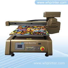 Digital Auto Height Testing UV Lighter Printer