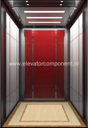 Custom Passenger Elevator Cabin Assembly