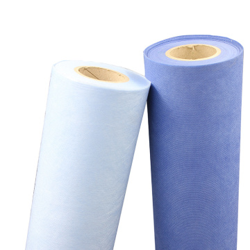 high quality blue biodegradable surgical disposable 3 ply pp fabrica non-woven fabric gauze rolls