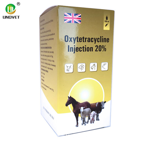 Pharmaceutical Oxytetracycline Injection 20%