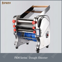 FKM240 electric dough sheeter for household/commercial stainless steel noodle maker dough roller presser machine