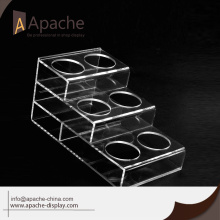 Different Colors Fashion beer bottle display rack for Wholesale