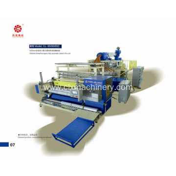 Three Screw Automatic Stretch PE Film Making Machine