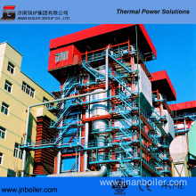 35 T/H Pakistan Local Coal Fired CFB Boiler