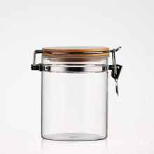 Glass Storage Jar Of Honey Ferment Bottles