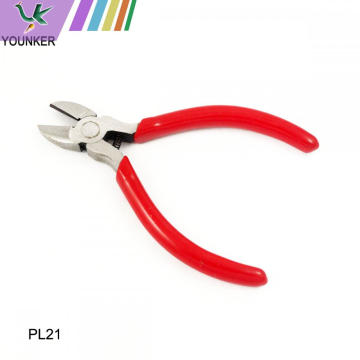 Effort Saving Cutting Edge Plastic Diagonal Pliers