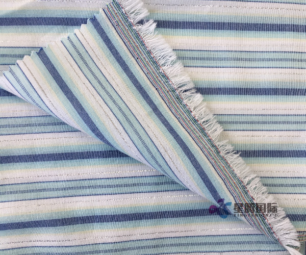 Lurex 100 Cotton Fabric