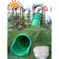 Outdoor Straight Playground Tube Slide For Sale